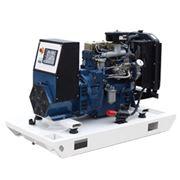 Дизельные электростанции НКУ Производство установка гарантия сервис. Дизельные электростанции на базе двигателя NEW HOLLAND мощностью от 17 до 40 кВа фото