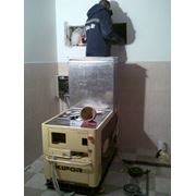 Электростанция для дома дачи коттеджа дизельный генератор в капоте KDA12STAO фото
