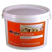 Краска водно-дисперсионная белоснежная, для потолков (Brozex) фото