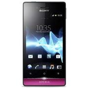 Sony Xperia Miro ST23i (black/pink) фото
