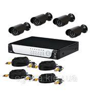 Комплект системы видеонаблюдения фото