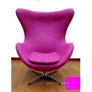 Аренда (прокат) кресла фиолетового одноместного «EGG» фото