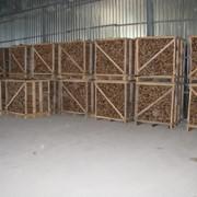 Дрова колотые в ящиках 1 RM фото