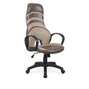 Кресло компьютерное Halmar DONUT (бежево-коричневый) фото