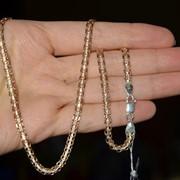 Цепь серебряная с позолотой Арт 067А 3/50 фото