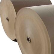 Картон для плоских слоев гофрированного картона фото