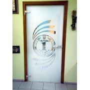 Дверь межкомнатная из стекла фото