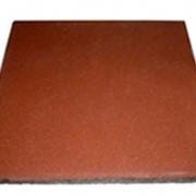 Квадратная однотонная плитка PlayMix кирпичи для входных зон фото