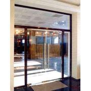 Входная группа- стеклянные двери фото