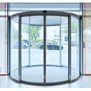 Автоматические радиусные двери