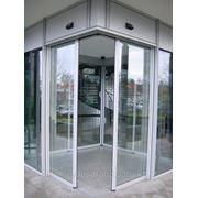 Автоматические раздвижные угловые двери