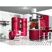 Готовые проекты кухонь фото