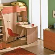 Комплект детской мебели радуга фото