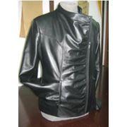 Женская кожаная куртка фото