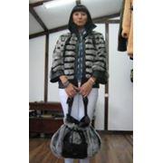 Куртка и сумка из меха фото