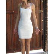 Кожаное платье фото