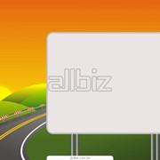 Изготовление и монтаж рекламных щитов фото