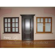 Окна и двери из различных пород древесины