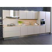 Линейный кухонный гарнитур фото