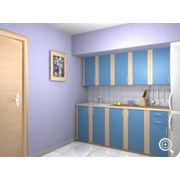 Кухни Лисса (Синяя) фото