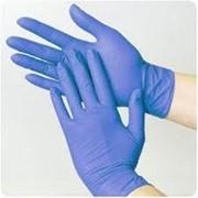 Перчатки нитриловые 200 ШТ . В уп. фото