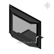Призматические Дверца для камина Kratki Amelia 607x750 мм фото