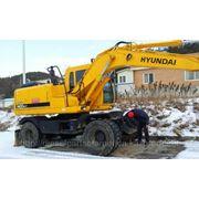 Колесный экскаватор Hyundai Robex (Хундай) 1400w-7, экскаватор Hyundai R140W-7