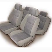 Пошив авто чехлов с системой крепежей не портящей основу сидения и позволяющей сохранить все подвижные функции на вашем сидении (подголовники, подлокотники, бардачки, подстаканники) фото