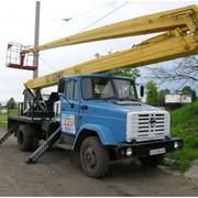 ВС-22МС ЗИЛ-130 предназначена для подъема людей и оборудования на высоту до 22 метров фото
