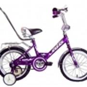 Велосипеды детские Dolphin 14 с ручкой фото