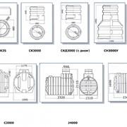 Элементы для индивидуальных канализационных систем фото