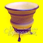Горшок керамический ковка №4 фото