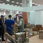 Сборка торгового оборудования фото