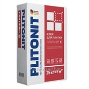 Клей для плитки Плитонит В /25,0 кг/ (48 шт на поддоне) фото