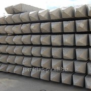 Сваи забивные железобетонные цельные, квадратного сплошного сечения 400х400 мм. марка С 110.40 – 9 фото
