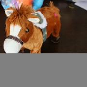 Мягкая игрушка Китай лошадка ES1005 фото