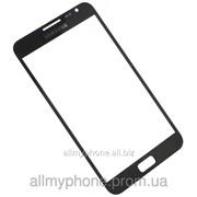 Стекло корпуса для мобильного телефона Samsung I9220 Galaxy Note / N7000 Note Black фото