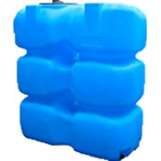 Пластиковый бак для воды 1000 л (КОД Т1000ФК2З) фото