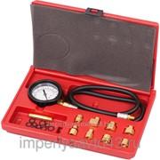 Манометр для измерения давления масла, 0-7 бар, комплект адаптеров МАСТАК 120-20020C фотография