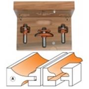Комплект 3 фрез концевых (мебельные фасады) TCT S=12 A фото
