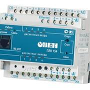 Программируемый логический контроллер Овен ПЛК154-220.У-L фото
