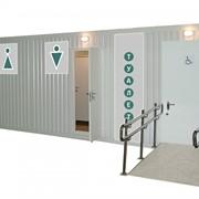Туалетные модули, модульные туалеты, санитарные модули фото
