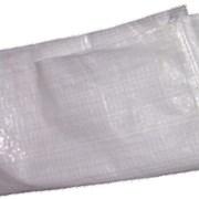 Мешки полипропиленовые белые 55 х 105 см. 70 гр. фото