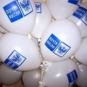 Печать на воздушных шарах фото