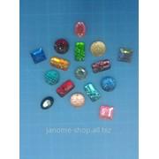 Стразы пришивные пластик d 12 мм1уп - 250шт фото