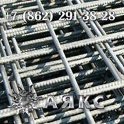 Сетка 150х150х5 сварная кладочная дорожная арматурная стальная ГОСТ 8478-81 в картах 23279-85 фото