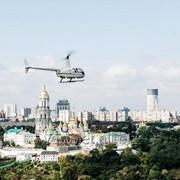 Полет над Киевом на вертолете Robinson R66 фото