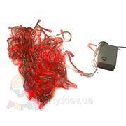 Гирлянда 100 ламп Красная фото