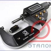 Микрометры гладкие цифровые для измерения наружных размеров изделий ГОСТ 6507-90 фото