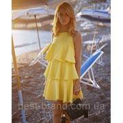 Платье DL каскад фото